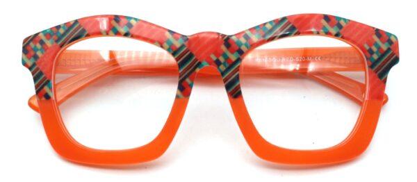 Kente Orange Front folded