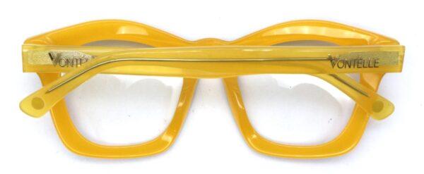 Kente Yellow Back folded