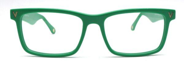 Rectangular Rands Green Front