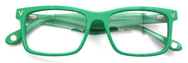 Rectangular Rands Green Front folded