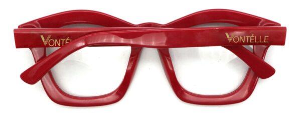 Red Kente Back folded