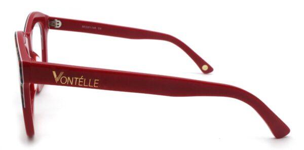 Red Kente Side